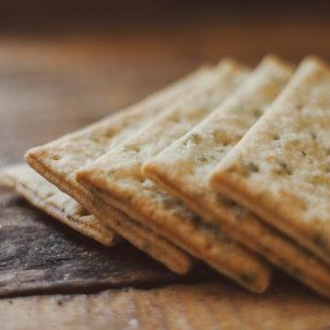 Хлібці зі шпинатом