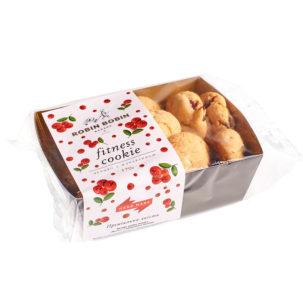 Печенье «Фитнес» с клюквой